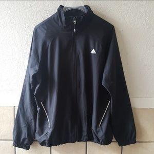 Adidas lightweight running jacket size XL GUC